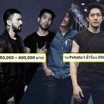 เปิดค่าจ้าง 3 วงดนตรีร็อค ไทย ที่แพงที่สุด อัพเดท 2019